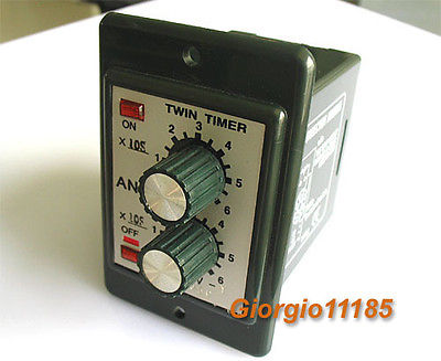 220V AC Programmable Double Time Delay Relay ATDV-Y автомагнитола acv avs 1714rd red