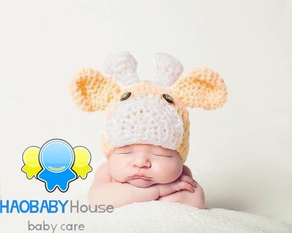 Recién nacido trajes de ganchillo gorro de algodón cosas de bebé ...