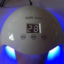 ФОТО  30w/24w professional nail dryer sun5 mini uv lamp led nail lamp curing lamps for drying nails polish led gel manicure tools
