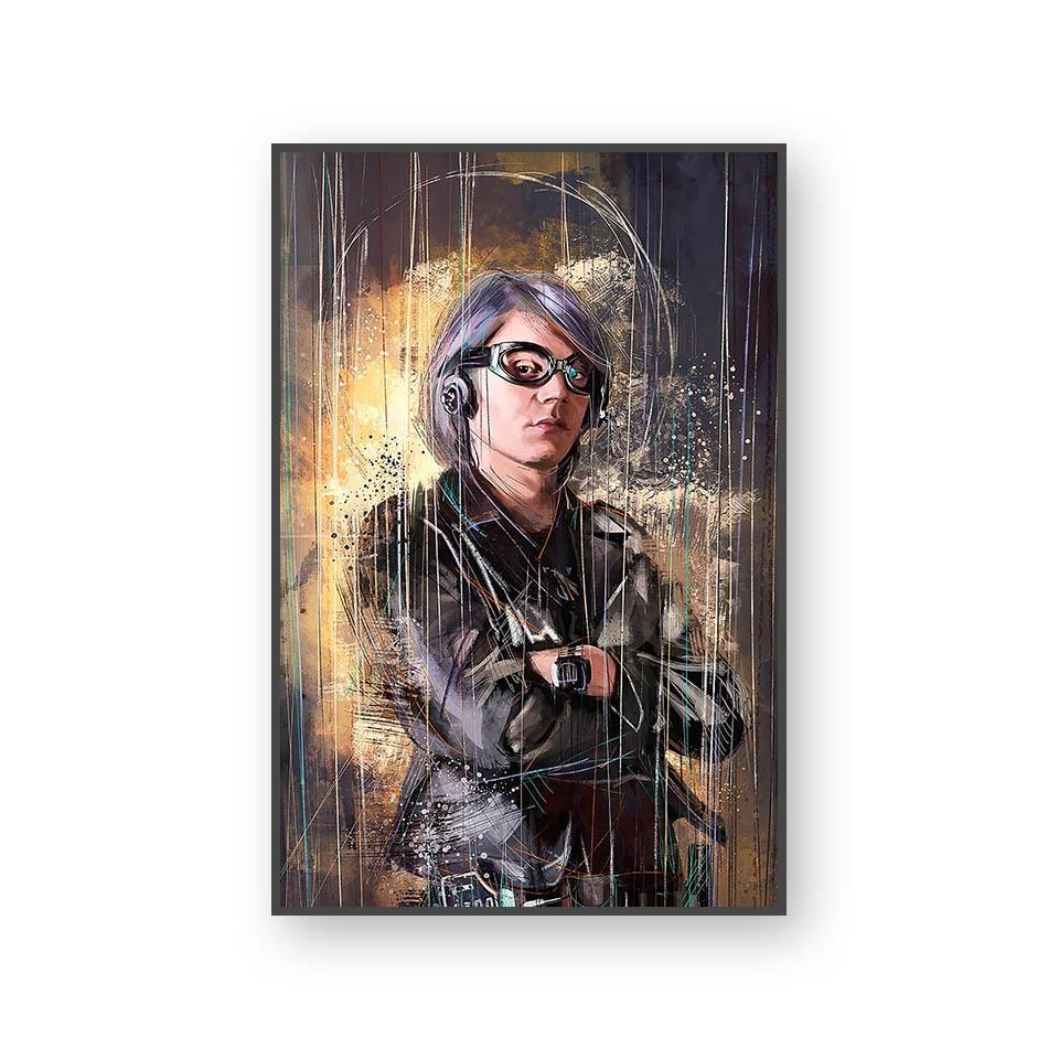 Настенный художественный холст с печатью постера, настенные картины для домашнего декора, Марвел, Мстители, фильм супергерой, Дэдпул, Железный Человек-паук, Локи - Цвет: L394L