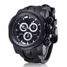 Famous Brand Military Quartz Watch Men Sport Watches Army Male Clock Big Watch Mens Wristwatch Rubber Relogio Masculino Large