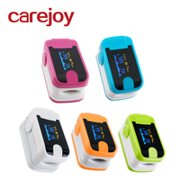 Color LED Fingertip Pulse Oximeter With Software 24H Recording Health Care