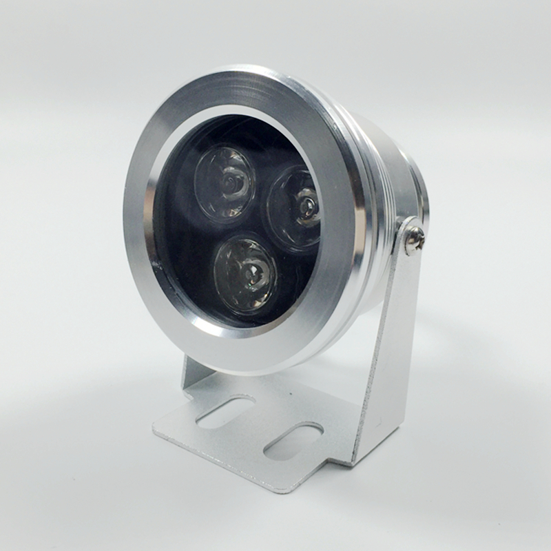 Waterproof 3W Outdoor High Power LED Floodlight Warm White Pure white 12V Lamp
