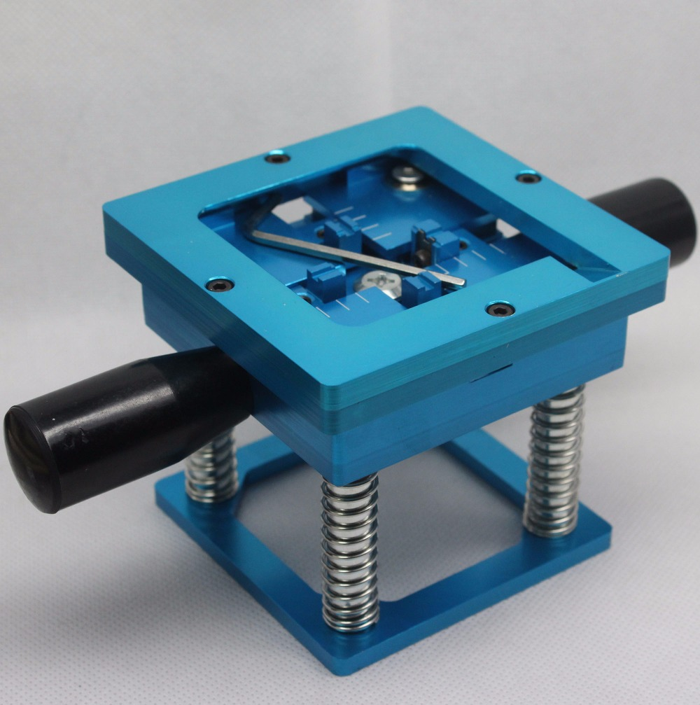 Image 3 - Blue BGA reballing kit 90*90mm BGA reballing station with hand shank Gift 10/PCS BGA Universal Stencil-in Clamps from Home Improvement