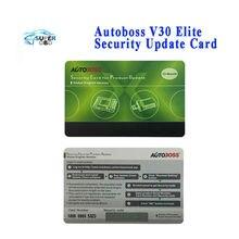 Original Autoboss V30/V30 Elite de Actualización de Seguridad de Tarjetas por Un Año Versión Global de Actualización En Línea