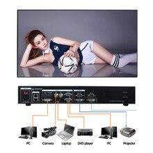 Nova chegada AMS-MVP508 led controlador de display led de vídeo switcher processador de vídeo de cor cheia melhor escolha para aluguer levou