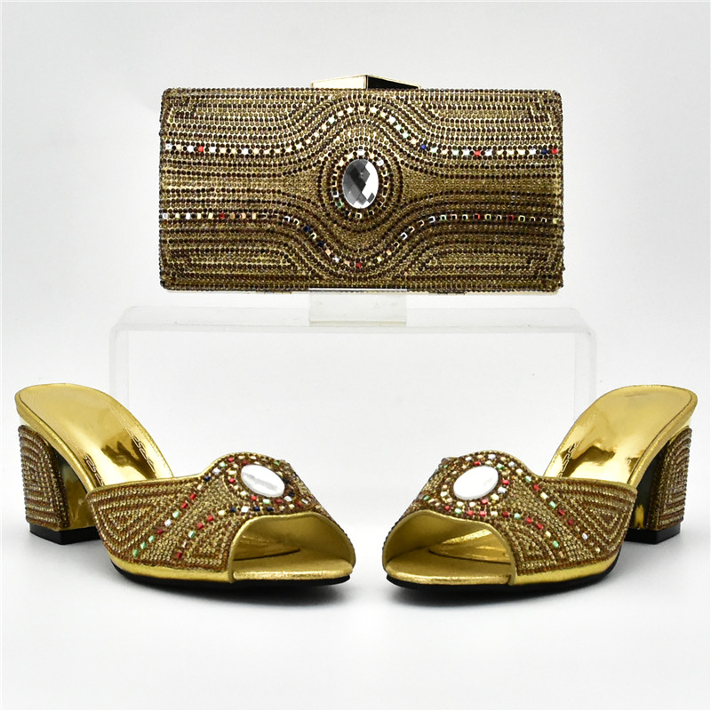 80ecd333 La Nigeriano yellow Italianos El red En Bolso fuchsia Boda gold A Bolsas  Para Purple Zapato Juego Llegada Fijados Bolsa Zapatos ...