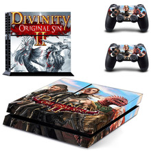 Divinity Original Sin 2 PS4 Skin Sticker Decal Vinyl for Sony Playstation 4 Console and 2 Controllers PS4 Skin Sticker metro exodus ps4 skin sticker decal vinyl for sony playstation 4 console and 2 controllers ps4 skin sticker