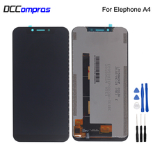 Original For Elephone A4 LCD Display Touch Screen Digitizer Assembly Replacement For Elephone A4 Display Screen LCD Free Tools for elephone vowney lite touch screen sensor with lcd display panel assembly 100