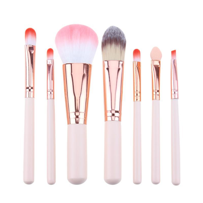 Mini Makeup Brush Set Pink Cosmetics Kit De Pinceis De Maquiagem High-end Make Up Tool Hair Foundation Brushes Kit