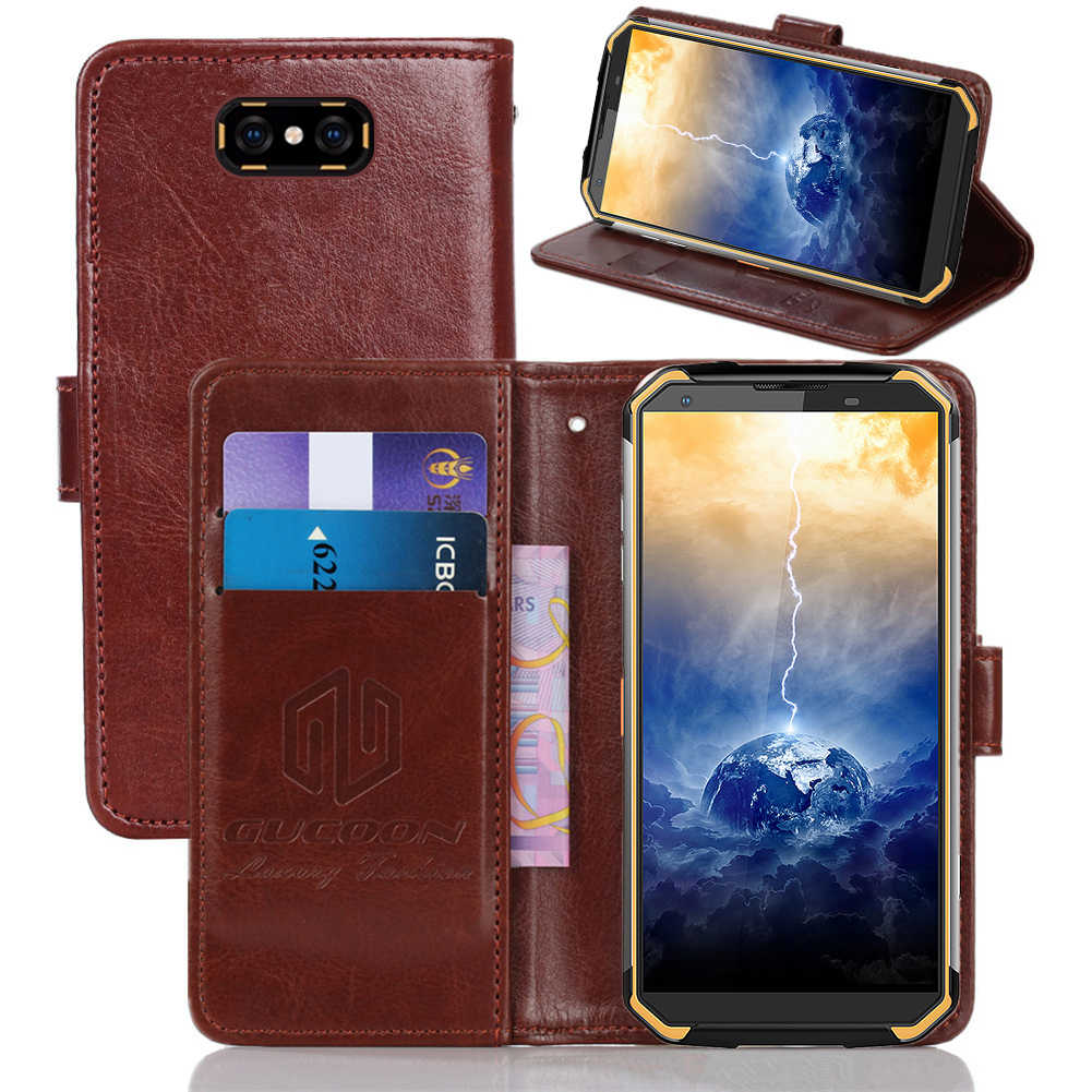 GUCOON Classic Wallet Case for Blackview BV9500 Plus PU Leather Vintage Book Flip Cover Phone Cases for Blackview BV9500 Pro