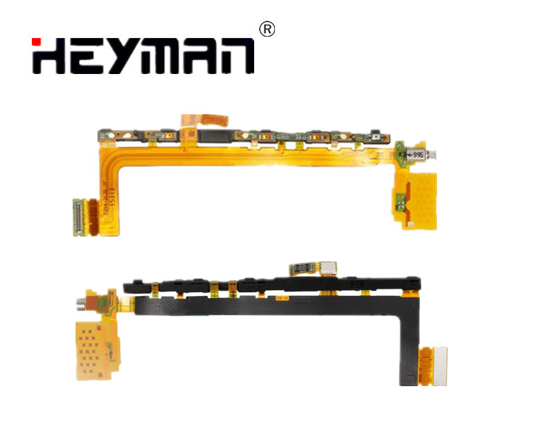 Side Button flex cable for <font><b>Sony</b></font> <font><b>Z5</b></font> Premium <font><b>Z5</b></font>+ E6833 E6853 E6883 <font><b>Motherboard</b></font> Ribbon Replacement parts image