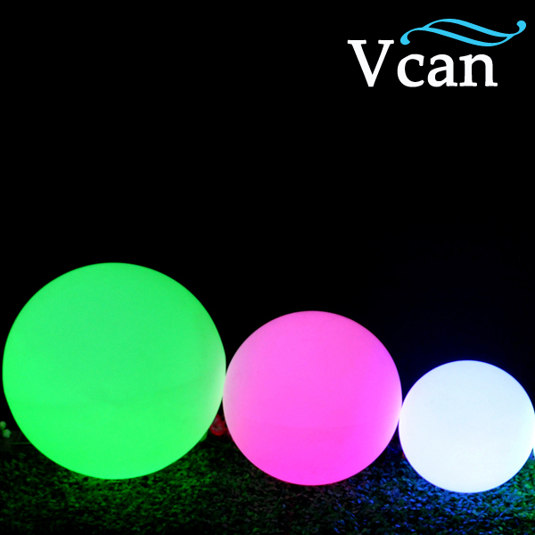 20 см, бесплатная доставка, RGB пульт дистанционного управления, изменение цвета, светодиодный шар для клуба или сада, VC B200 - 3