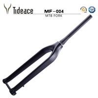 Tideace Carbon Rigid MTB Carbon Fork 29er Tapered 1 1/2 with Thru Axle shafter 15mm Bicicletas carbon fiber mountain bike forks