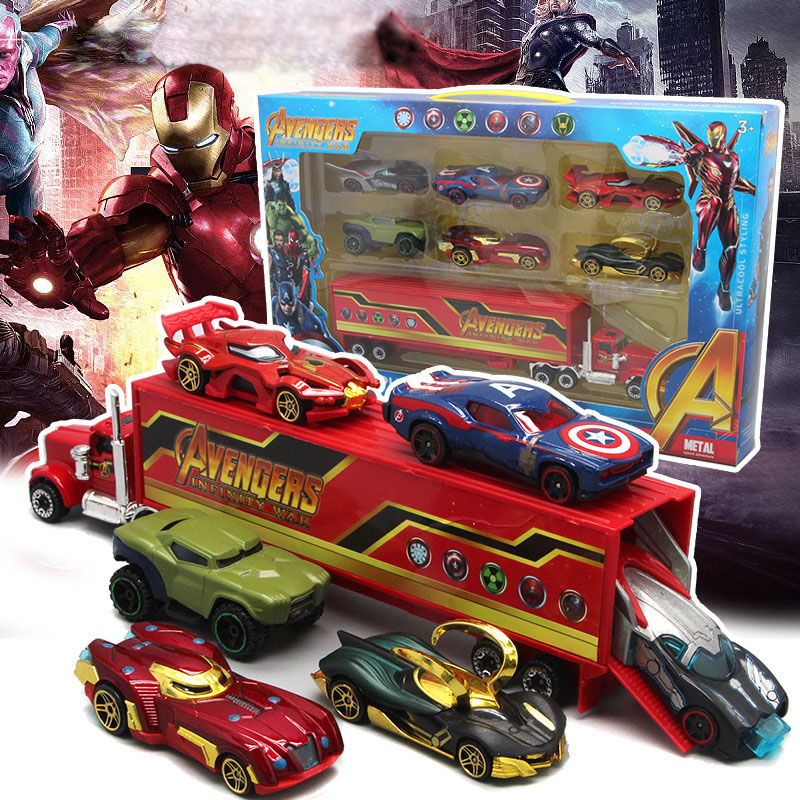 Disney Pixar Cars Lightning McQueen Toy Car Marvel Avengers Children Boy Girl Cartoon Alloy Toy Car Model Best Christmas Gifts