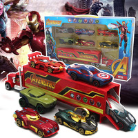 Disney Pixar Cars Lightning McQueen Toy Car Marvel Avengers Children Boy Girl Cartoon Alloy Toy Car Model Best Christmas Gifts