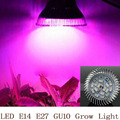 Полный Спектр СВЕТОДИОДНЫХ Светать 18 Вт E14/E27/GU10 Прожектор Лампы Цветочных Растений Парниковых Гидропоники Системы 110 В 220 В Расти Поле