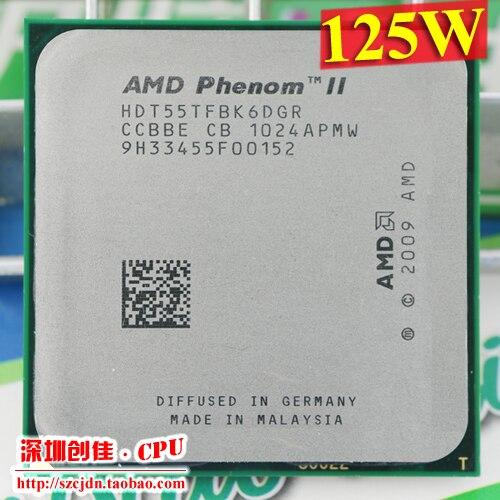 Free Shipping AMD Phenom II X6 1055T 125W CPU processor 2.8GHz AM3 938 Processor Six-Core 6M Desktop CPU scrattered piece wavelets processor