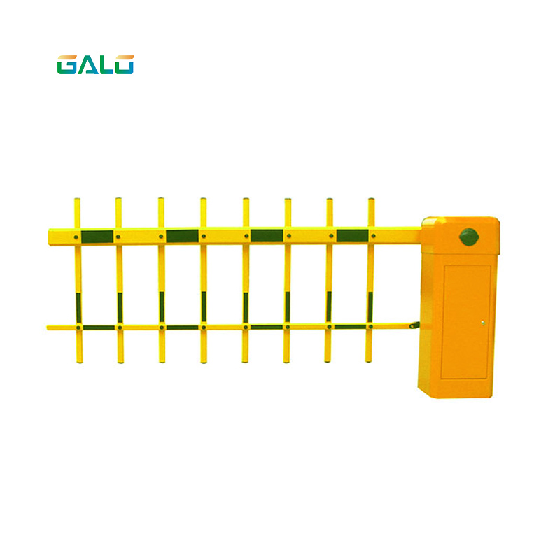 Intelligent Three Fence Arm Traffic Barrier Gate