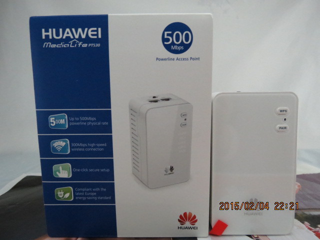 Huawei Pt530  High-speed 500m Power Cat Power Line Ap High-speed Wireless Connection 1 pc PT530 speed line pro