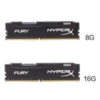 Kingston HyperX FURY 8GB 16GB 2400MHz Memory RAM DDR4 Ram DIMM Memory Intel Memoria Ram Desktop