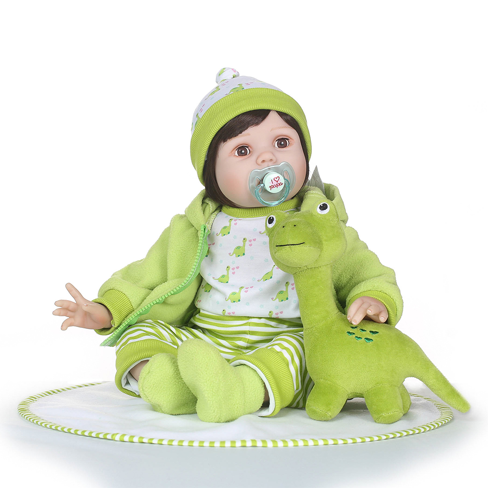 Silicon Reborn Babies Cotton Body Soft Real Gentle Touch Bonecas Reborn Cut Bebe Dolls Hot Toys for KidsSilicon Reborn Babies Cotton Body Soft Real Gentle Touch Bonecas Reborn Cut Bebe Dolls Hot Toys for Kids