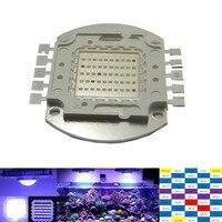 100 w 50*2 w lampadina acquario luce minimalista multichip diy led buid spettro per la crescita, 100 w led coltiva la luce