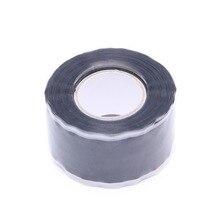 Водонепроницаемый силиконовые производительность ремонт Клейкие ленты связывания спасения самозатвердевающими шланг экологичные