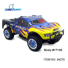 Rc Car HSP 1/10 Electric Powered R/C 4WD Off Road Rally Short Course Truck RTR 94270 Similar REDCAT HIMOTO Racing