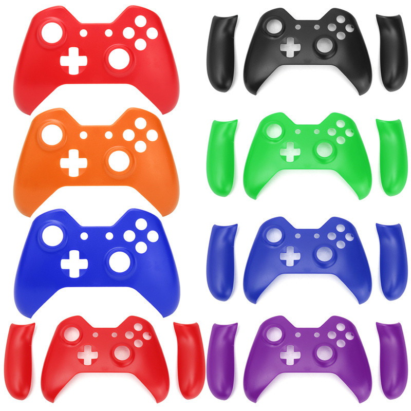 Til Xbox One Trådløs Controller Multi Color Front Housing Shell Faceplate Udskiftning Soft Touch Body Protector Skin Shell