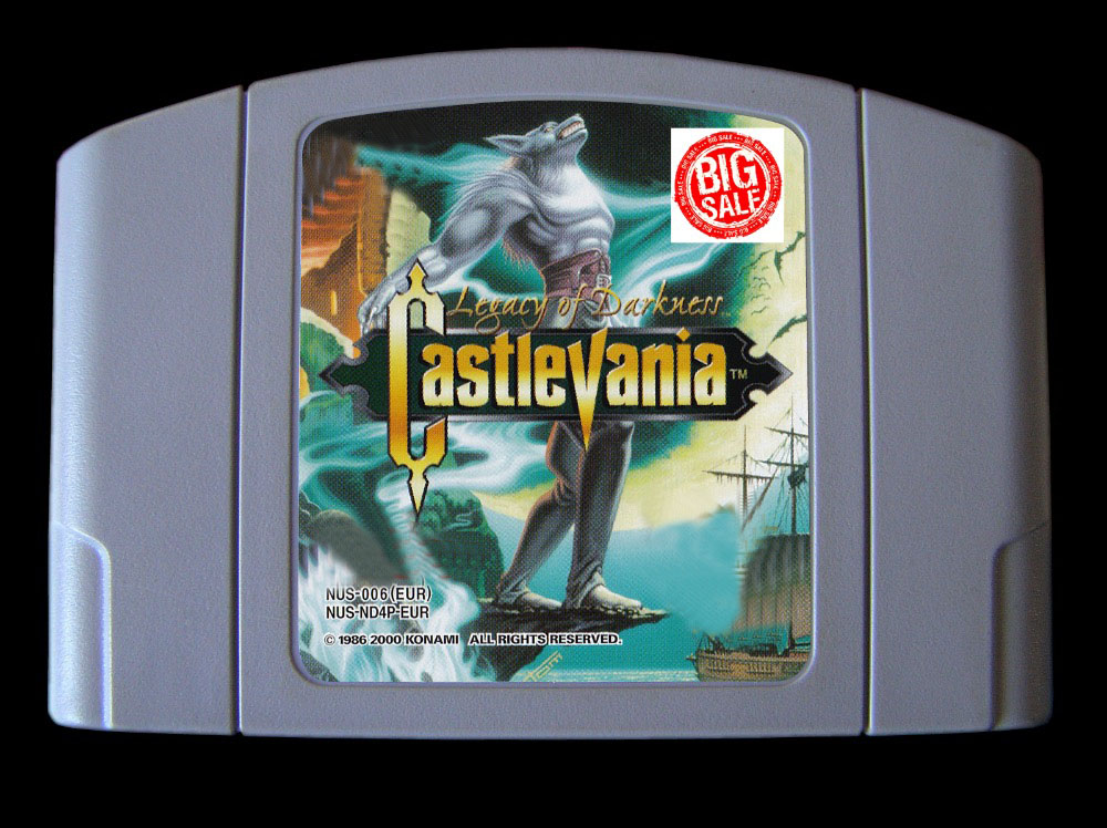 64Bit Games Castlevania Legacy of Darkness English PAL Version