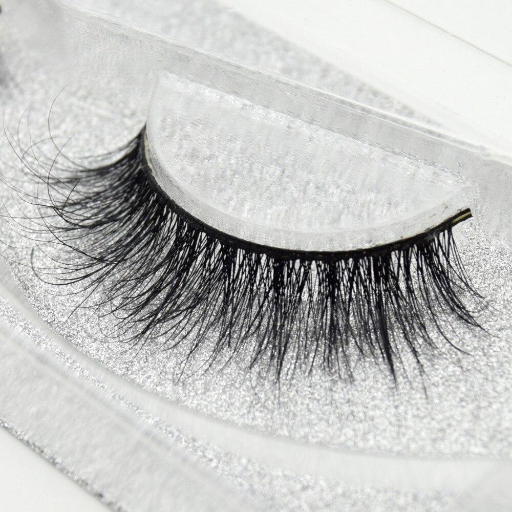 Visofree Eyelashes 3D Mink Eyelashes Long Lasting Mink Lashes Natural Dramatic Volume Eyelashes Extension False Eyelashes D03