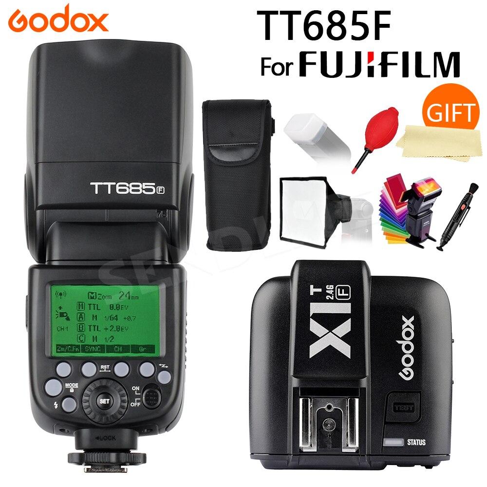 Flash Speedlite TT685S HSS 1//8000S GN60/TTL con trigger wireless X1T-S TTL per flash da 2,4/G diffusore flash Softbox e filtri colorati per il flash adatto per fotocamere digitali Sony con Mi Shoe. Godox