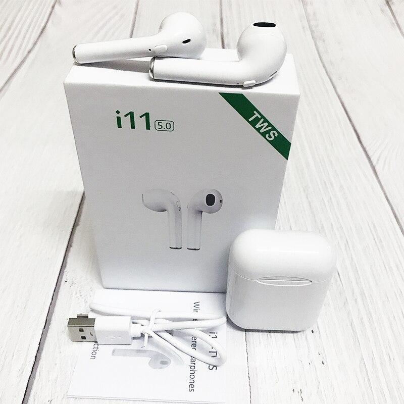Nova TWS i11 i12 PK Fones de Ouvido Bluetooth Fones de ouvido Sem Fio i9s i20 i10 I13 I14 telefone Fones De Ouvido fone de ouvido fone de ouvido Auriculares ouvido