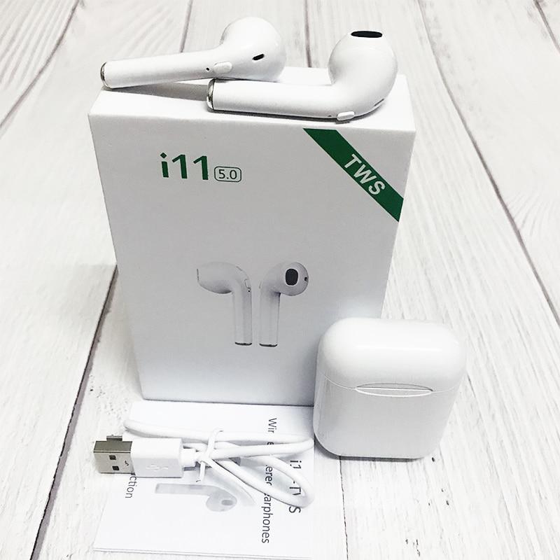 Novo i11 tws fones de ouvido sem fio bluetooth fones de ouvido no ouvido pk i12 i20 i9s i10 i13 i14 telefone auriculares fone de ouvido fone de ouvido