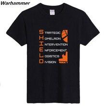 2017 new agents of shield t-shirts jungen & mann 6,2 unze sportbekleidung clothing gedruckt basic kurzarm geburtstag überraschung t-shirts