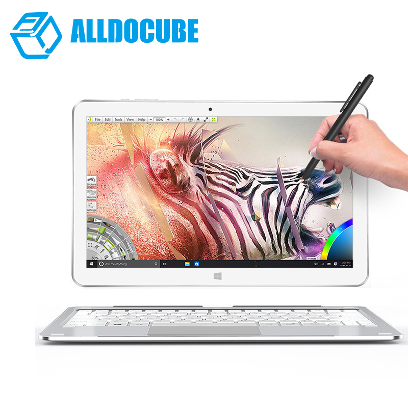 ALLDOCUBE Mix plus 2 in 1 Tablet PC Windows10 OS 10.6 1920*1080 IPS intel Kabylake 7Y30 Dual Core 4GB Ram 128GB Rom Dual Camera silwerhof silwerhof тетрадь на кольцах а5 linea 160 листов с разделителями синяя