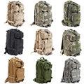 Grande capacidade 30L caminhadas saco de acampamento militar do exército tático caminhadas mochila mochila Camo