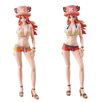 Original figure ONE PIECE Sweet Style Pirates NAMI chopper hat A & B color PVC Action figures Sexry girl Model collection toy