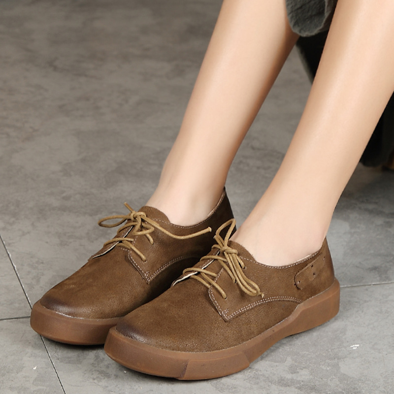 8f4c935a1 2018-Autumn-Vintage-Mori-Girl-Style-Women-s-Brown-Flat-Shoes -Real-Leather-High-Quality-Hand.jpg