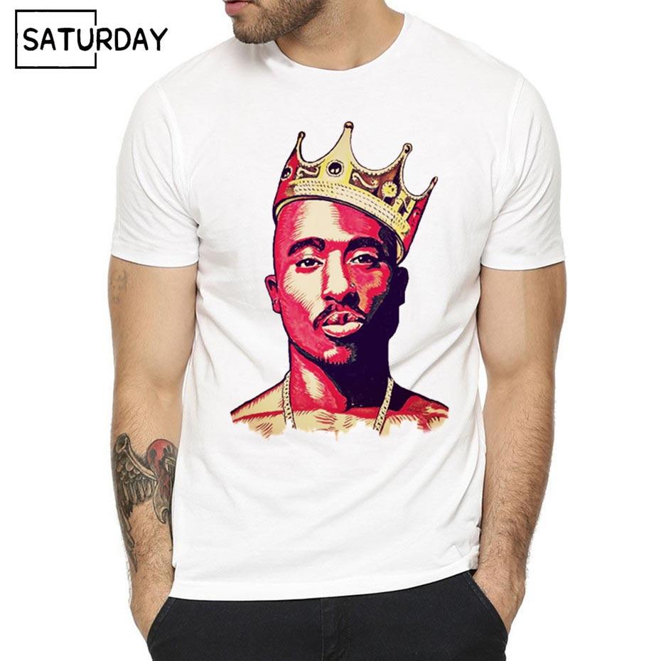 Men's Hip Hop Raper Tupac 2pac Print   T  -  shirt   Women Summer Swag   T  -  shirt   Boy Print Tshirt ip Hop Swag harajuku Streetwear   T     shirt