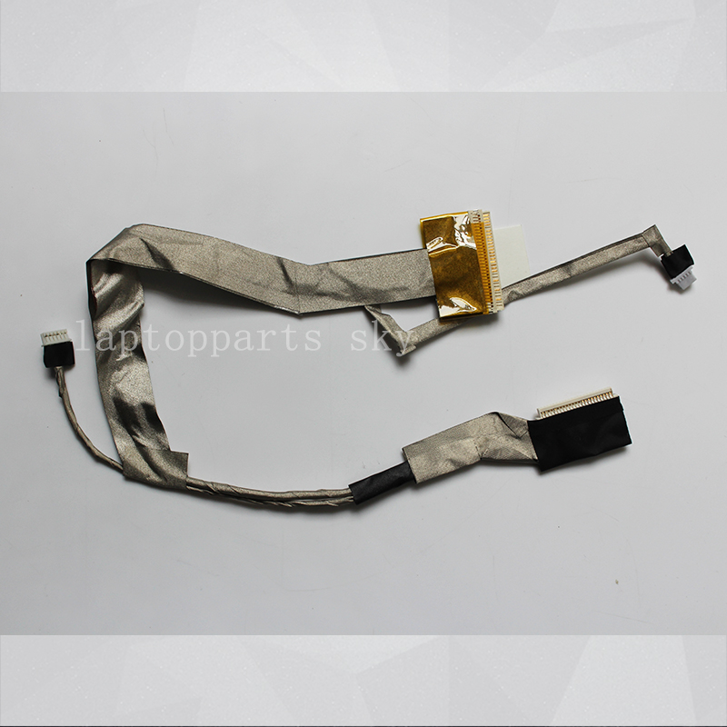 NEW Original LCD LVDS LED Video Flex Cable For HP COMPAQ CQ60 Laptop Screen video Display Cable 50.4AH18.001 new original lvds lcd display screen flex cable for apple imac 27 923 0308 md095 md096 a1419 12 13year hk post free shipping