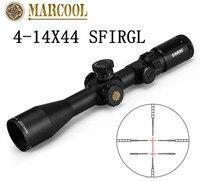 MARCOOL 4 14X44 SFIRGL FFP Markering Optische Rifle Sight Tactical Gear Sluipschuttersgeweer Rode Fiber Sight Jacht