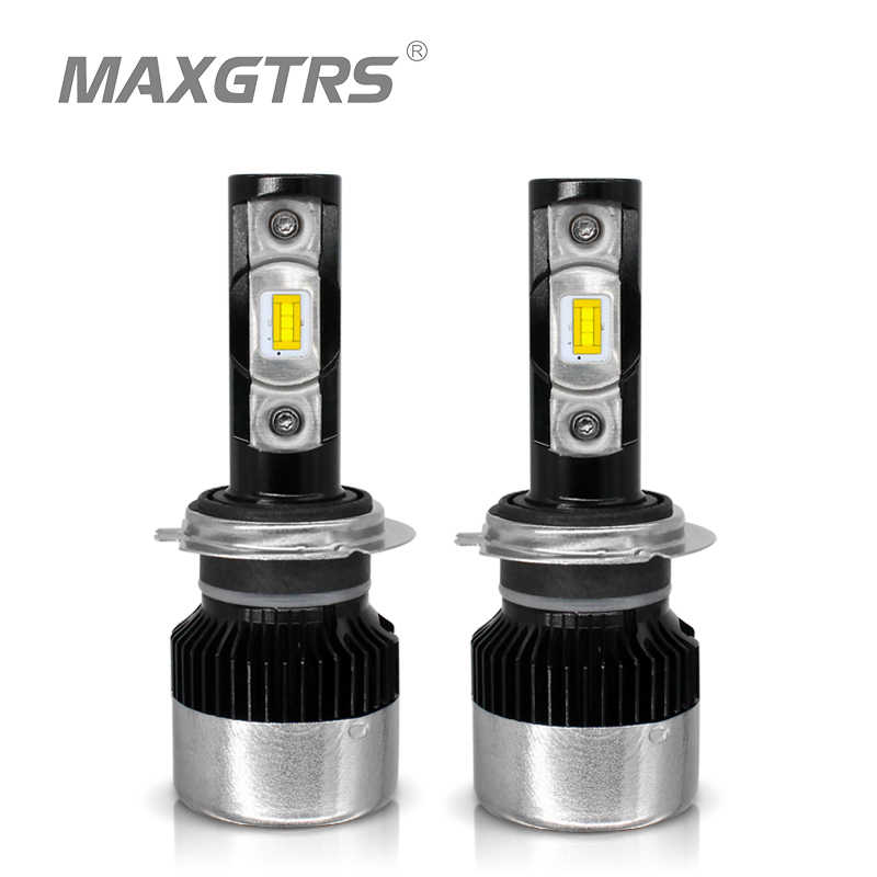 MAXGTRS H7 H4 H11 H1 H3 9005 9006 9012 880 H8 H11 HB3 HB4 LED Car Headlight Bulbs 70W 8000LM/pair 6000K Auto Headlamp 12V