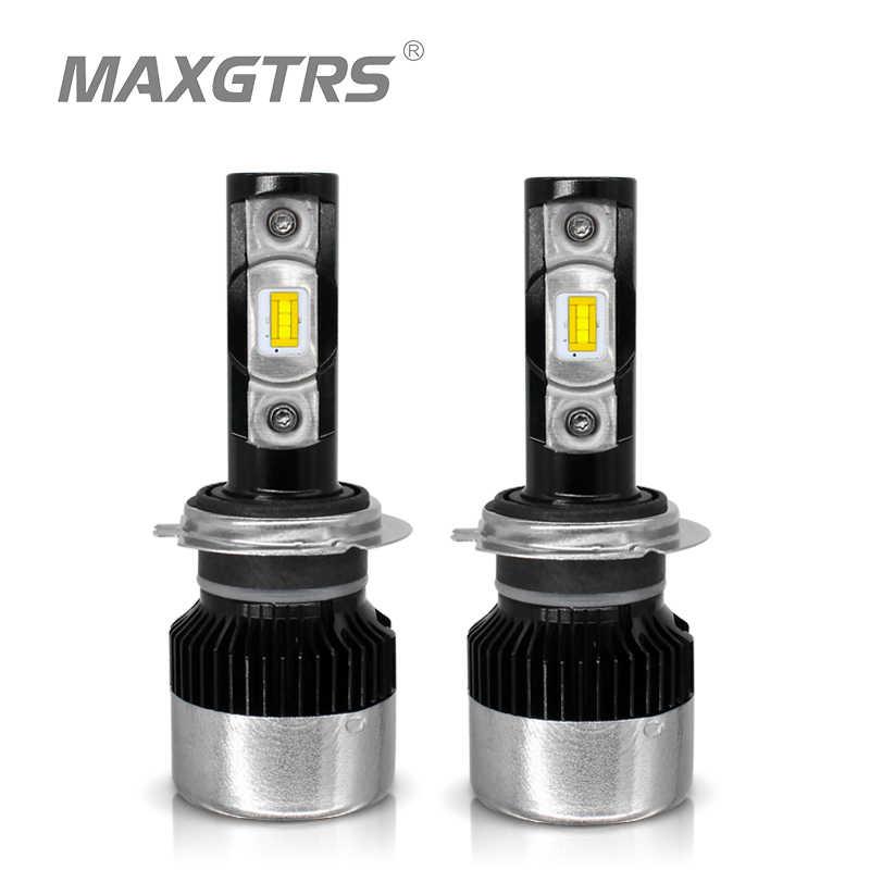 MAXGTRS H7 H4 H11 H1 H3 9005 9006 9012 880 H8 H11 HB3 HB4 LED Car Headlight Bulbs 70W 8000LM/pair 6000K Auto Headlamp 12V
