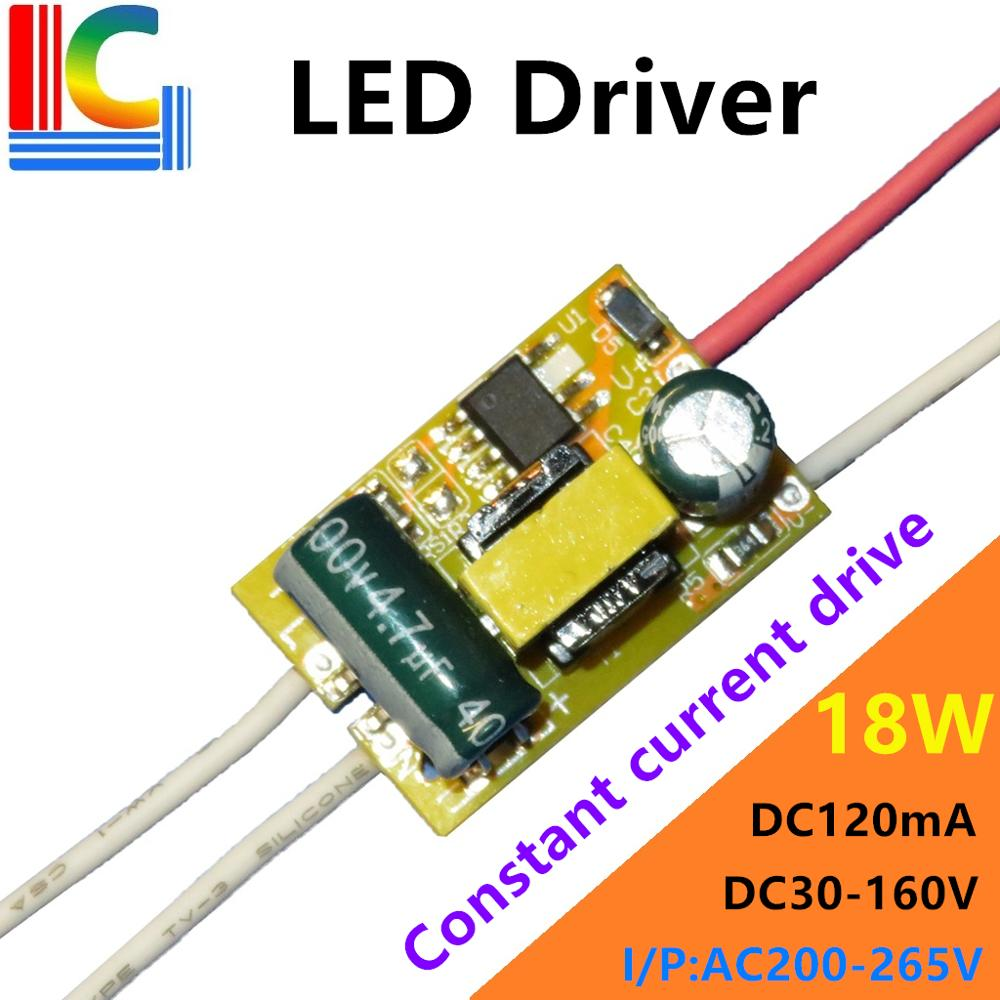 BP2866A 9W 12W 15W 18W LED Tube Driver 120mA DC 30V - 160V Power Supply AC180-265V transformer for T5 T8 LED Tube DIY LED Bulb