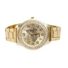 Hot Women Watch Luxury Diamond Dial Wrist Quartz Watches Ladies Butterfly Pattern Stainless Steel Bracelet Watch Reloj Montre цена и фото