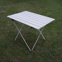 Mesa portátil plegable Camping senderismo escritorio viaje Al aire libre Picnic nuevo azul gris Rosa negro aleación Al Ultra-Luz S L