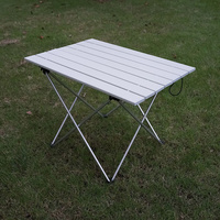 Portable Table Foldable Folding Camping Hiking Desk Traveling Outdoor Picnic New Blue Gray Pink Black Al Alloy Ultra light S L