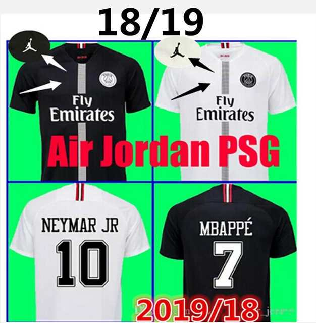 cheaper bf658 710f4 US $19.88 |2018 champions league psg jersey NEYMAR JR MBAPPE PARIS soccer  jersey 2018 2019 Paris shirt VERRATTI CAVANI MEN football brand-in Soccer  ...